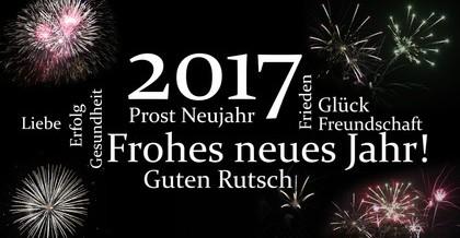 Alles Gute im neuen Jahr 2017